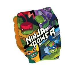 GIM Μπρατσάκια Θαλάσσης 25X15cm Ninja Power Turtles Χελωνονιντζάκια 870-07120 5204549116658