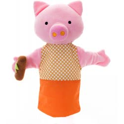 Eurekakids RP Marionette Little Pig - Orange 7021630005 8435404810061