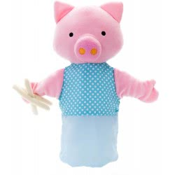 Eurekakids RP Marionette Little Pig - Blue 7021630006 8435404810078