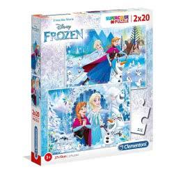 Clementoni Disney Frozen Special Supercolor Παζλ 2X20 1261-07030 8005125070305