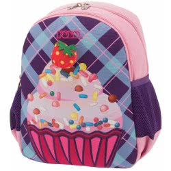 POLO Backpack Animal Junior (P.R.C.) Cupcake Color 64 901014-64 5201927102111