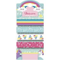 Totum Unicorn Elasic Bands TM951860 / HAIR CLIPS 8714274071414