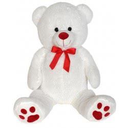 Christakopoulos Plush White Bear 100 Cm 2889V 5212007552306