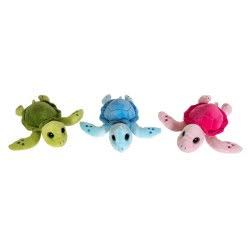 Christakopoulos Plush Turtle 22Cm - 3 Colours 2030-2 5212007549641