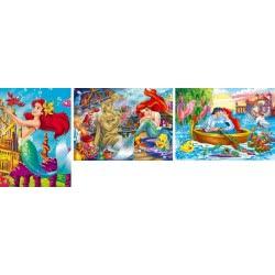 Clementoni Princess Παζλ 3Χ48 Disney- Η Μικρή Γοργόνα 1200-25131 8005125251315