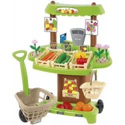 ecoiffier Organic Market Stall 1741 3280250017417