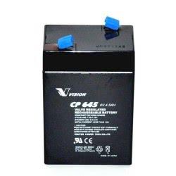SEMICOM Μπαταρία Μολύβδου 6V 4.5Ah Vision CP645 VSCP4.5-6 8887860000515