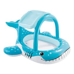 INTEX Whale Shade Pool - Φαλαινοπισίνα Με Ηλιοπροστασία - 211X185x109εκ. 57125 6941057407678