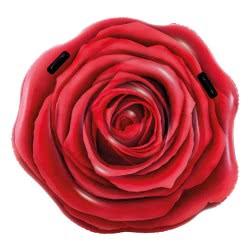 INTEX Red Rose - Φουσκωτό Στρώμα Τριαντάφυλλο - 137X132εκ. 58783 6941057413419