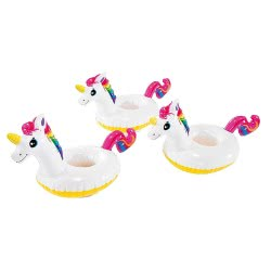 INTEX Unicorn Drink Holder Set Of Three 57506 6941057413327
