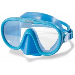 INTEX Sea Scan Swim Mask 2 Colours (Blue, Yellow) 55916 6941057413150