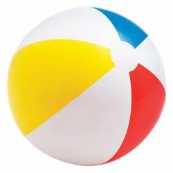 INTEX Beach Balls Glossy Panel Ball - Γυαλιστερή Φουσκωτή Μπάλα Θαλάσσης 51Cm 59020 6941057450209
