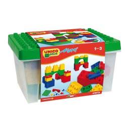 ANDRONI Maxi Unico Plus Container With Bricks 8811-0000 8000796088116