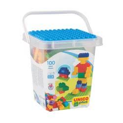ANDRONI Unicoplus Container 100 Bricks Bucket 8510-0000 8000796085108