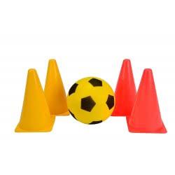 Simba Be Active Σετ Προπόνησης Ποδοσφαίρου Με Μπάλα Και Κώνους 5967-0000 8000796059673