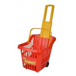 Simba Mini Market Shopping Trolley - Red 2705-0000 8000796027054