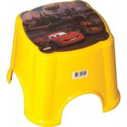 dede Stool Cars Yellow 01800WD 8693830018004