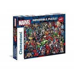 Clementoni Παζλ 1000 Τεμ. Impossible Marvel 1260-39411 8005125394111