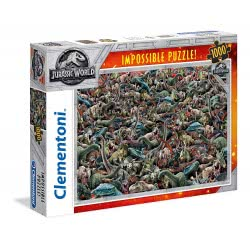 Clementoni Puzzle 1000 Impossible Jurassic 1260-39470 8005125394708