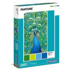 Clementoni Παζλ 1000 Pantone: Peacock Blue 1260-39495 8005125394951