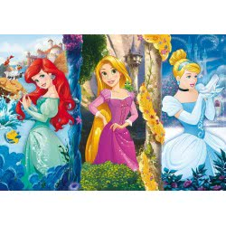 Clementoni Παζλ 60 Maxi S.C. Disney Πριγκιπισσες 1200-26416 8005125264162