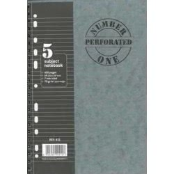A&G PAPER Σπιράλ B5 5Θ 200Φ Number One Perforated 14598 5203296004256
