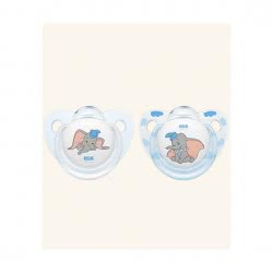NUK Trendline Disney Classics Silicone Soother With Kick 0-6 Months 10730203 4008600298014