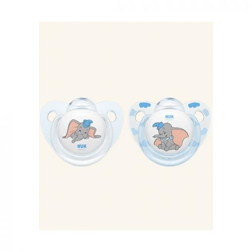 NUK Trendline Disney Classics Πιπίλα Σιλικόνης Με Κρίκο 0-6 Μηνών 10730203 4008600298014