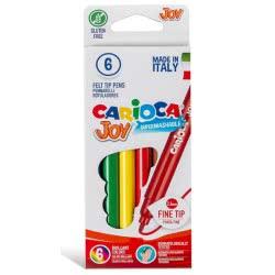 CARIOCA Μαρκαδόροι JOY 6 Χρώματα 40613 8003511406134