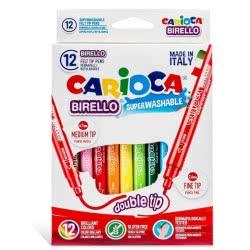 CARIOCA Μαρκαδόροι Birello 12 Χρώματα 41457 8003511414573