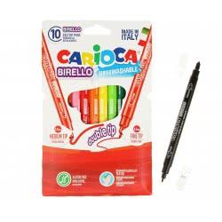 CARIOCA Μαρκαδόροι Birello 10 Χρώματα 41438 8003511414382
