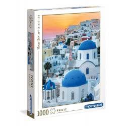 Clementoni Puzzle 1000 Pieces H.Q. Santorini 1220-39480 8005125394807