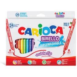 CARIOCA Markers Birello 24 Colors 41521 8003511415211