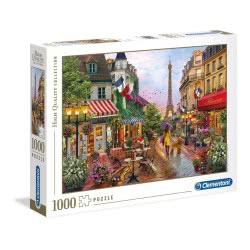 Clementoni Παζλ 1000 Τμχ H.Q. Flowers In Paris 1220-39482 8005125394821