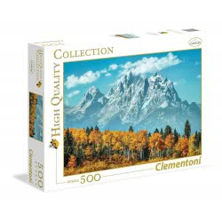 Clementoni Puzzle 500 Pieces  H.Q. Grand Teton In Fall 1220-35034 8005125350346