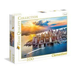 Clementoni Puzzle 500 Pieces H.Q. New York 1220-35038 8005125350384