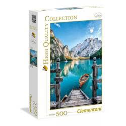 Clementoni Παζλ 500 Τμχ H.Q. Λίμνη Braies 1220-35039 8005125350391