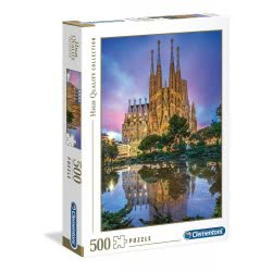 Clementoni Παζλ 500 Τμχ H.Q. Βαρκελώνη 1220-35062 8005125350629