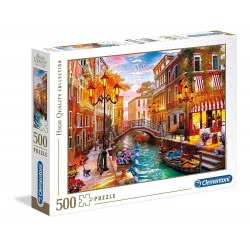 Clementoni Puzzle 500 Pieces H.Q. Sunse Over Venice 1220-35063 8005125350636