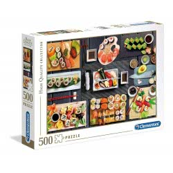Clementoni Puzzle 500 Pieces H.Q. Sushi 1220-35064 8005125350643