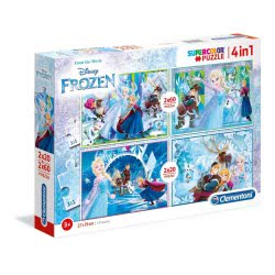 Clementoni Παζλ 2X20 + 2X60 Supercolor Disney Frozen 1200-07614 8005125076147