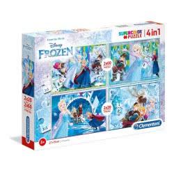 Clementoni Puzzle 2X20 + 2X60 Supercolor Disney Frozen 1200-07614 8005125076147