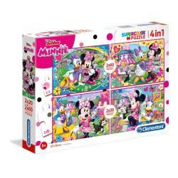 Clementoni Puzzle 2X20 + 2X60 Supercolor Minnie Happy Helpers 1200-07615 8005125076154