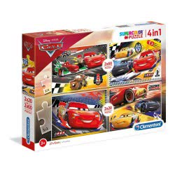 Clementoni Παζλ 2X20 + 2X60 Supercolor Cars - Αυτοκίνητα 1200-21305 8005125213054