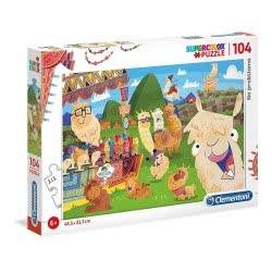 Clementoni Puzzle 104 Pieces Supercolor Probllama 1210-27279 8005125272792