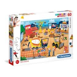 Clementoni Puzzle 60 Supercolor Men At Work 1200-26990 8005125269907