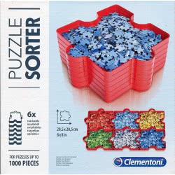 Clementoni Puzzle Sorter With Six Cases 1220-37040 8005125370405
