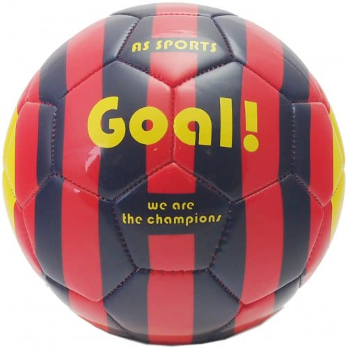 As company Leather Football Ball Color Rings We Are The Champions - Black-Red 5001-15979 5203068159795
