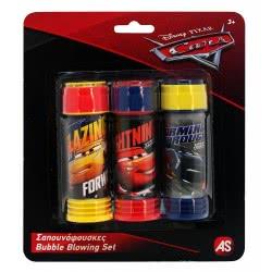 As company Cars Σαπουνόφουσκες Bubble Blowing Set (3 Τμχ) 5200-01319 5203068013196