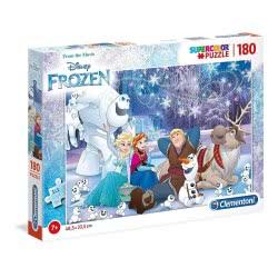 Clementoni Puzzle 180 Supercolor Disney Frozen 1210-29292 8005125292929
